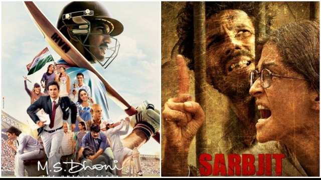 MS Dhoni The Untold Story and Sarbjit