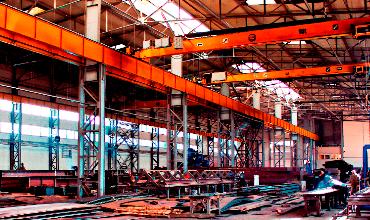 Цех по виробництву металоконструкцій