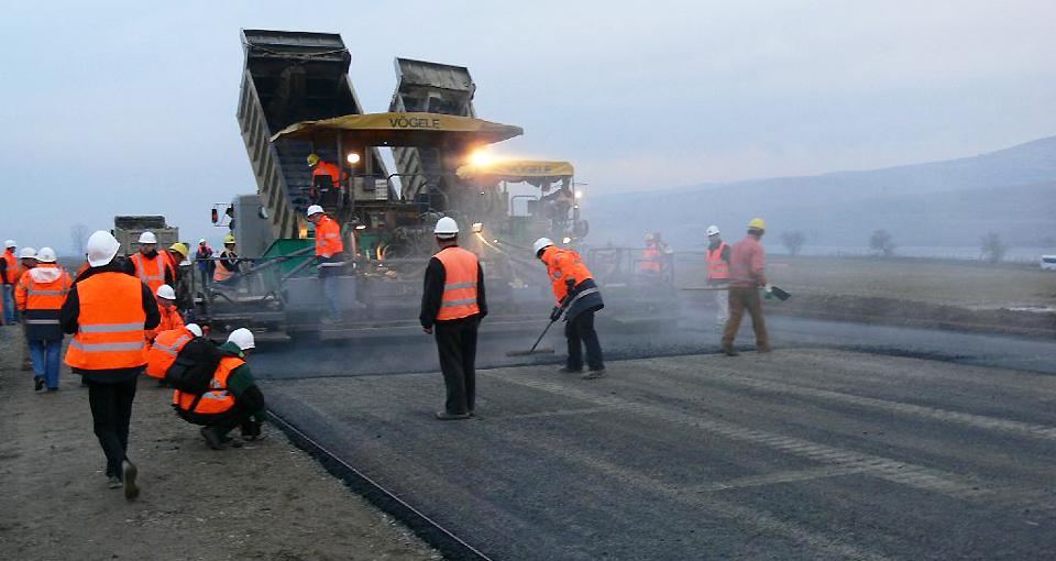 Строительство дороги в Днепре
