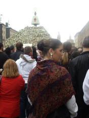 Wielu mieszkańców Sragossy przywdziewa na czas świąt bardziej tradycyjne stroje.