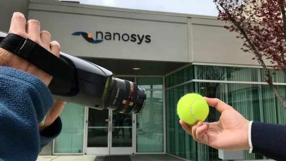 Tennis Ball Color Measurement Nanosys