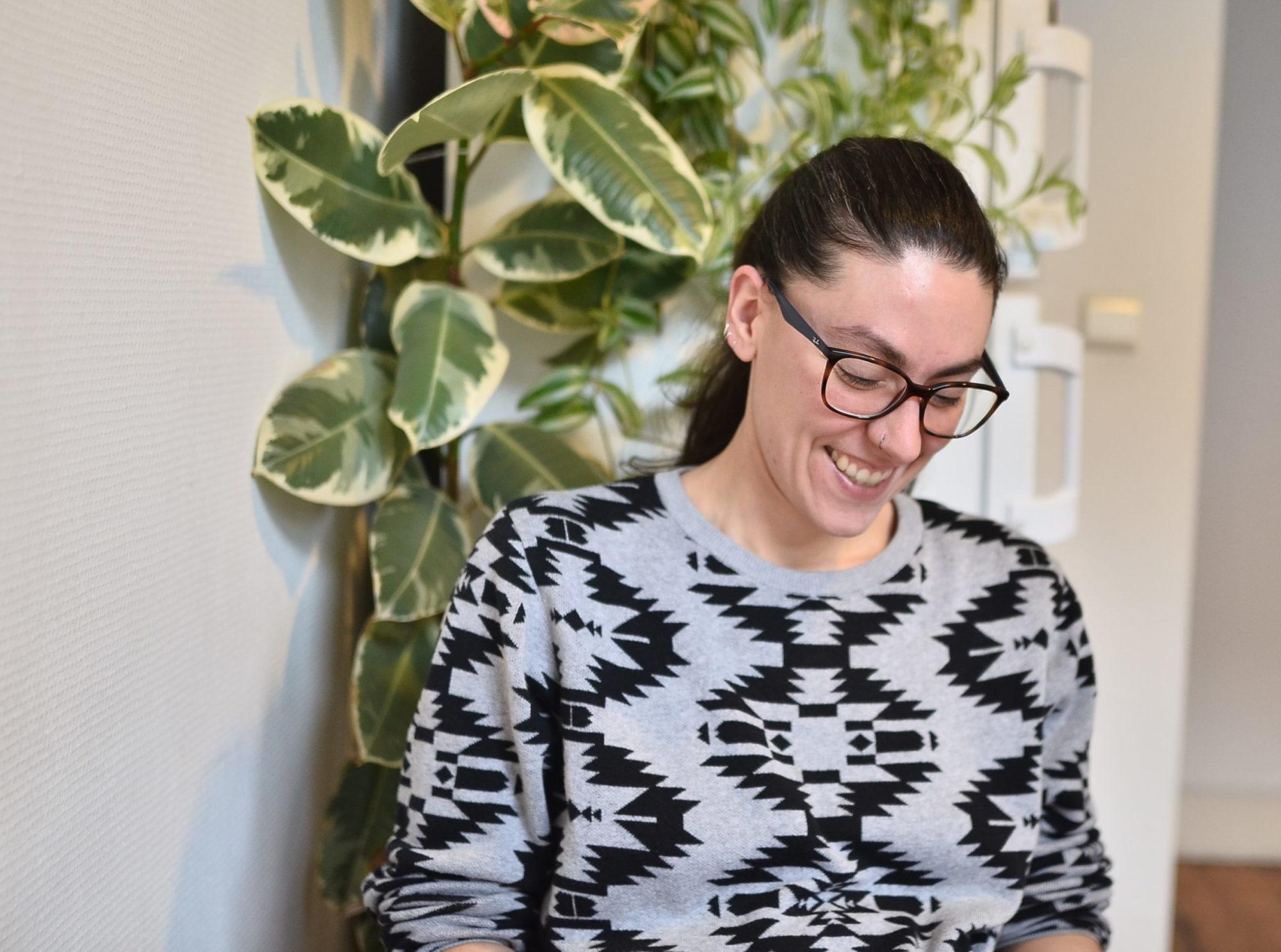 artiste, portrait, Giulia Gallino, Bruxelles, Dot-To-Dot magazine , atelier
