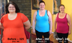 weight loss before and after photo