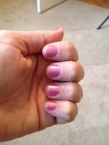 weight loss makeover home manicures