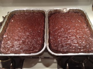 Brownies are so delicious. The one baked good I find the hardest to resist. Thankfully, I only enjoyed 3 small morsels.