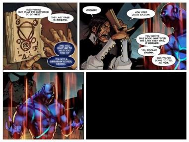 TI5 compendium comic the summoning 10