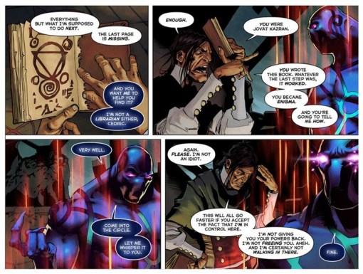 TI5 compendium comic the summoning 11