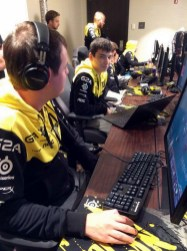 Natus Vincere, before their first TI5 Group Stage series