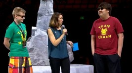 TI5 All Star Match - N0tail and Chuan are choosing people from the audience