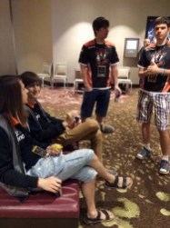 Virtus.Pro, before going into their first series of the TI5 Group Stage