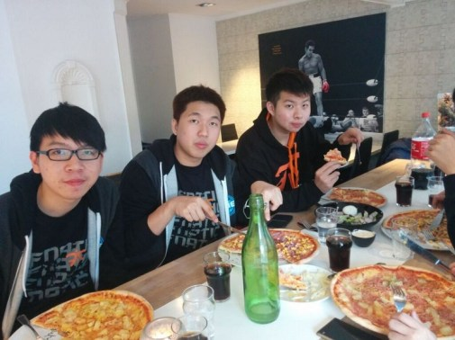 Fnatic TI5 bootcamp in Sweden