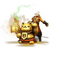 TI6 Compendium Juggernaut golden tout