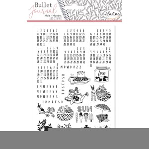 tampons-bullet-journal-calendrier