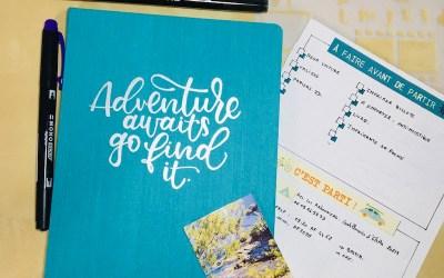 Conseils pour faire son carnet de voyage