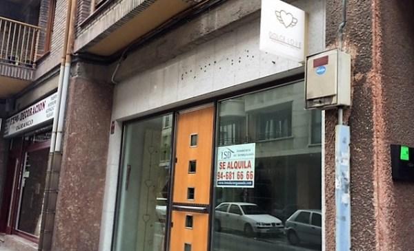 La tienda de la calle Montevideo permanece cerrada desde hace semanas
