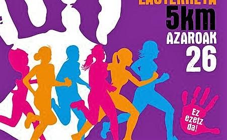 Cartel anunciador de la prueba del 25 de noviembre