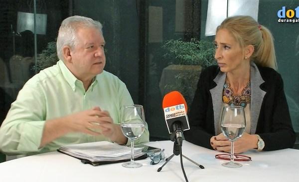Jose Mari Arrillaga y Agurtzane Irigoras FOTO. dotb.eus