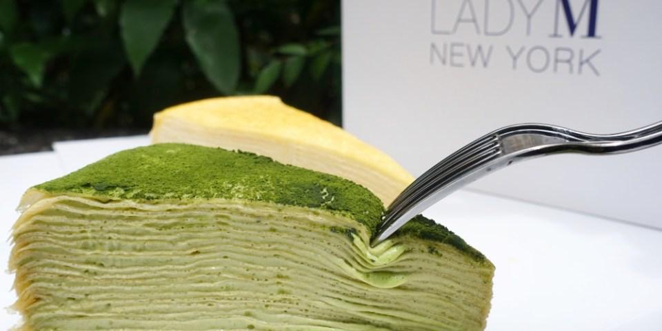 Lady M 台北旗艦店|法式經典千層蛋糕直接外帶免排隊,國父紀念館甜點
