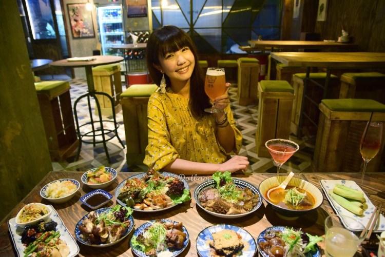 小巨蛋美食推薦|渣男Taiwan Bistro南京三渣,隱身巷口台式居酒屋 來盤滷味吧!
