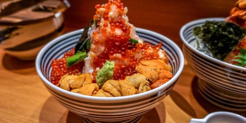台北信義微風美食推薦 日本東京必吃第一海鮮丼飯つじ半TSUJIHAN
