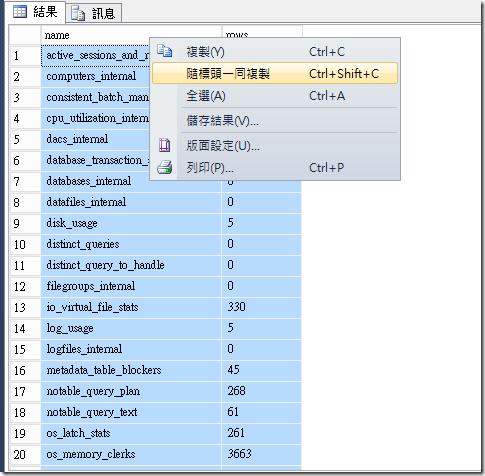 [SQL][Excel]利用 Excel 來比對兩個資料庫的數據量是否相同 | 五餅二魚工作室 - 點部落