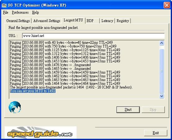上網速度最佳化調整 TCPOptimizer | Jeff 隨手記 - 點部落