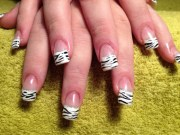 interesting acrylic nail