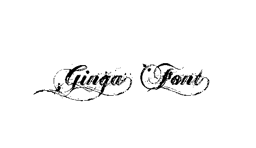 Gangster Stencil Tattoo Fonts