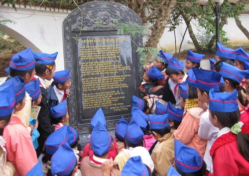 Học sinh trường THCS Đồng Lộc
