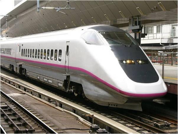 Tàu Shinkansen Komachi đi Akita