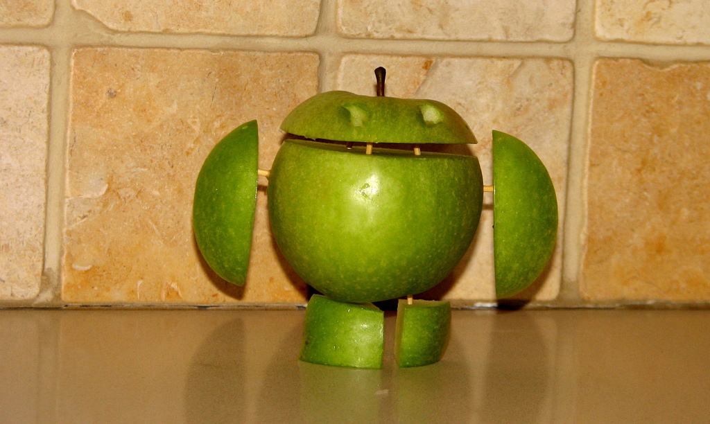 Apfel als Android CC by 3.0 by Tsahi Levent-Levi (flickr)