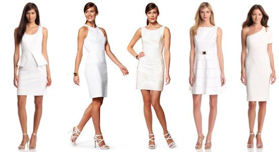 White Dresses Summer 2013 Trends