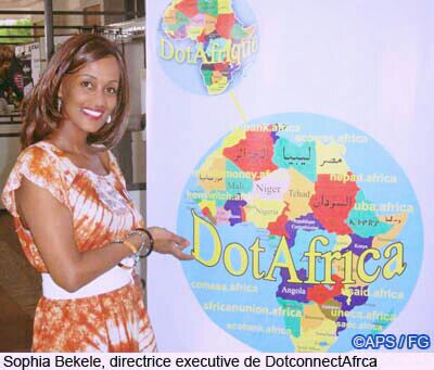 Sophia Bekele Executive Director DCA Trust Dakar Senegal