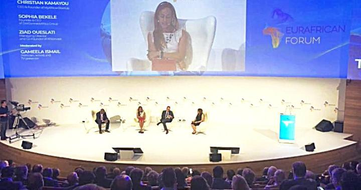 Portugal Sophia Bekele Urges Opportunity Enhanced Trust at EurAfrican 2018 forum