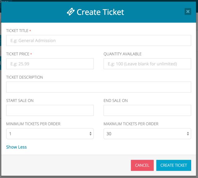 Create a Ticket