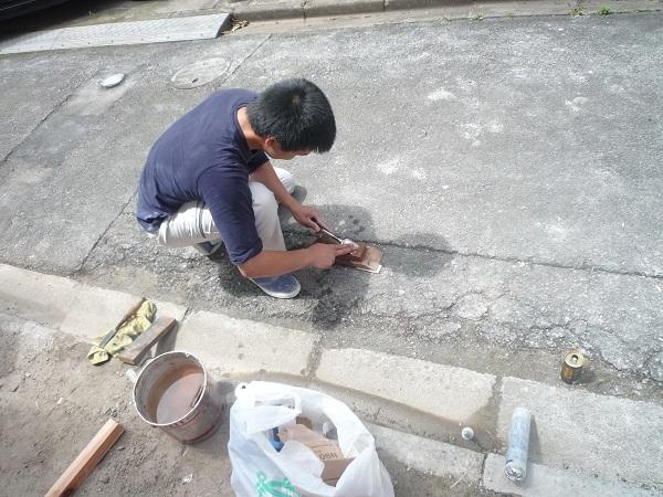 若い大工の育成2