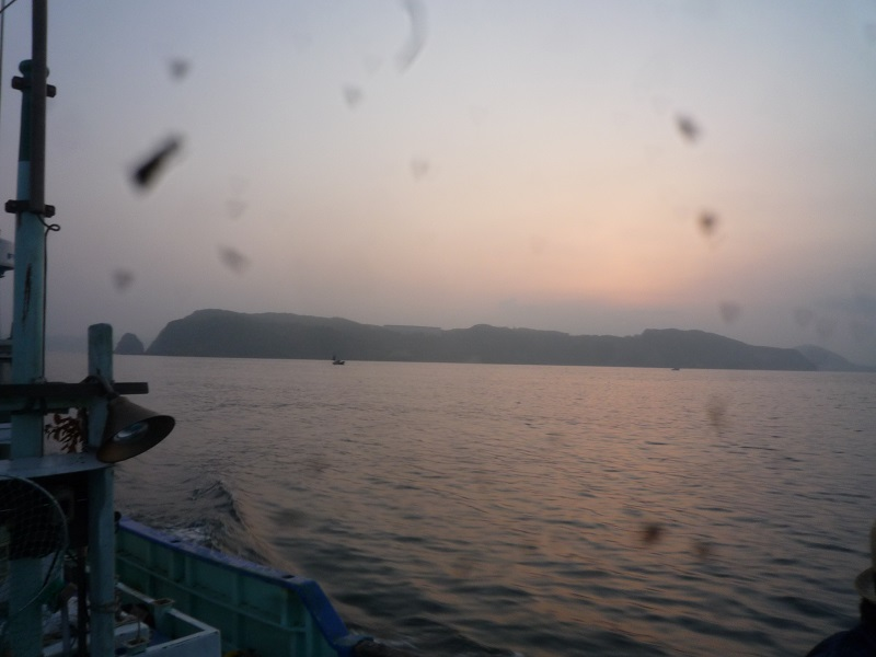 富浦の夜明け