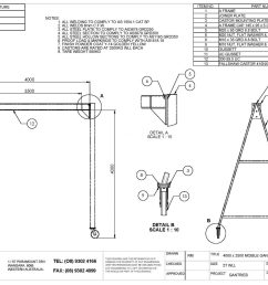 a diagram for a frame hoist completed wiring diagrams5t mobile a frame gantry d o t engineering wire [ 1500 x 1061 Pixel ]