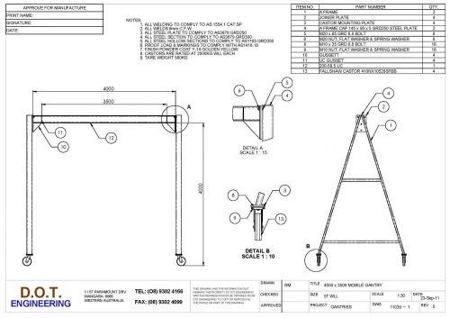 small resolution of a diagram for a frame hoist completed wiring diagrams5t mobile a frame gantry d o t engineering wire