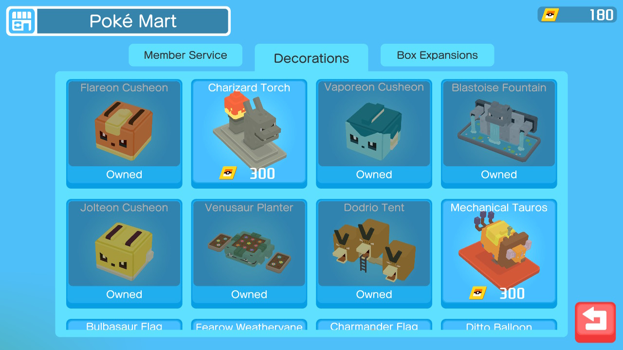 kangaskhan swing chair pokemon quest thomasville leather office decorations guide what they do and how to get them list of available for purchase with pm tickets
