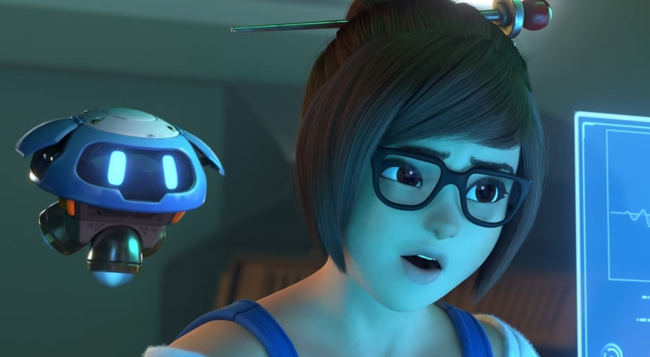 mei looks more comfortable