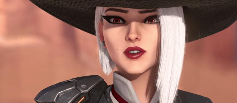 New Overwatch Hero Ashe Revealed At BlizzCon 2018 Dot
