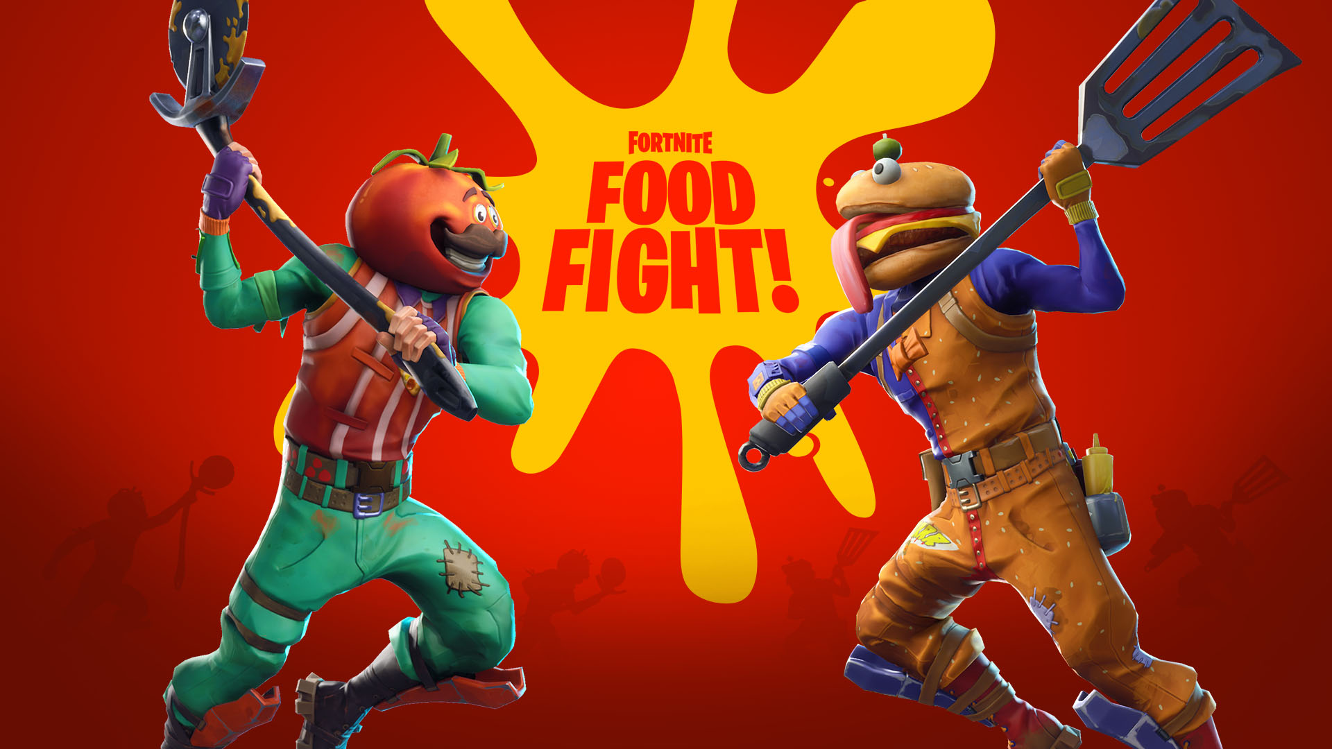 Fortnites 630 Update Brings Food Fight Limited Time Mode