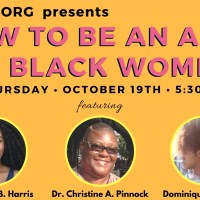 Hey NYC, join me on Thursday 10/19 for: HOW TO BE AN ALLY TO BLACK WOMEN!