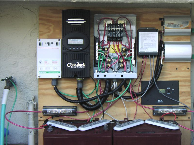 110v Breaker Wiring Diagram My Modest Solar Setup Do The Math