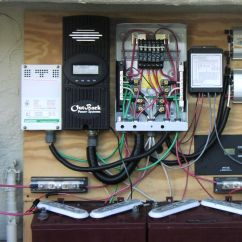 Solar Panel Charge Controller Circuit Diagram Domestic Electrical Wiring Uk My Modest Setup | Do The Math