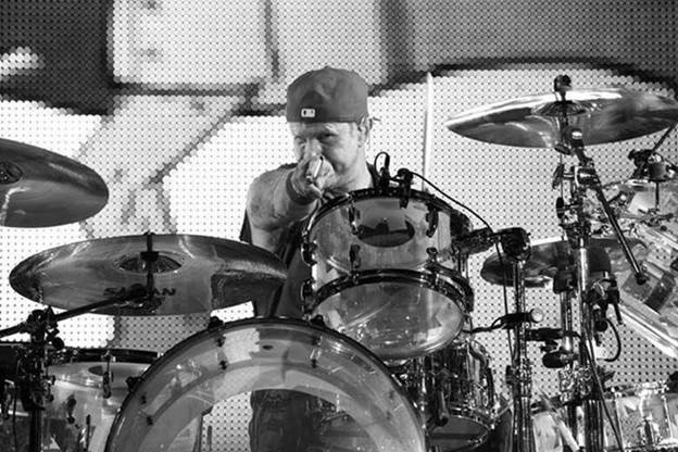 Chad Smith Red Hot Chili Peppers Drums