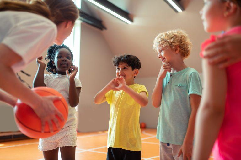 Summer Basketball children