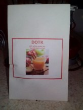 Tea bag favor