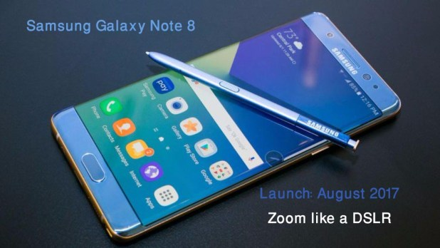 Samsung Galaxy Note 8 Zoom Like a DSLR